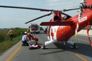 Vážna nehoda sa stala dnes ráno po 9. hodine.