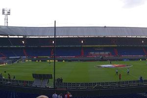 Štadión De Kuip v Rotterdame.