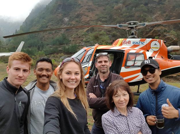Posádka vrtuľníka
