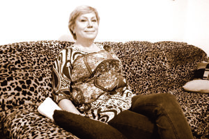 Anna Reviľáková dnes, na návšteve vBardejove.