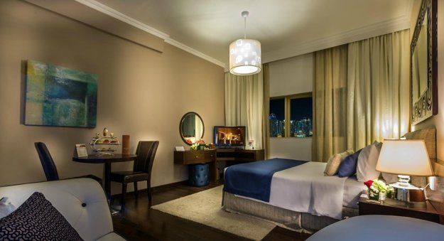 Hotel First Central Suites 4*, Dubaj.