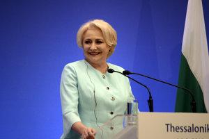 Rumunská premiérka Viorica Dancilaová.