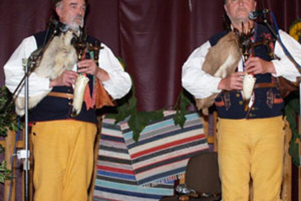 Gajdovačka v Oravskej Polhore má od začiatku medzinárodný charakter.