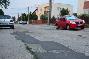 Hajdóczyho ulica v Trnave.