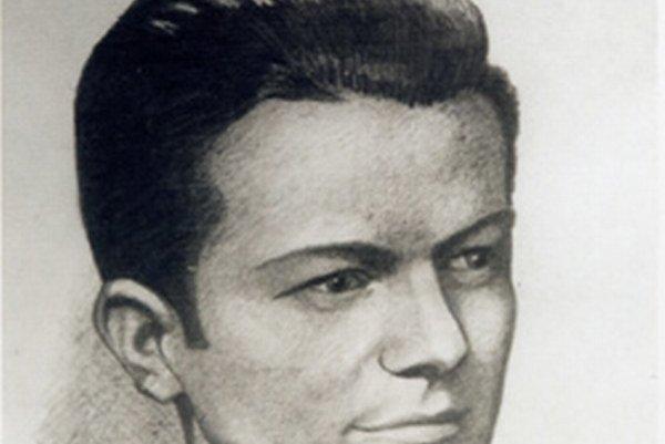 Autoportrét Vojtecha Schotterta zo študentských čias.