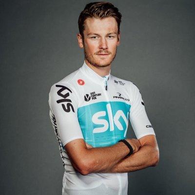 Dylan Van Baarle, cyklista, tím Team Sky