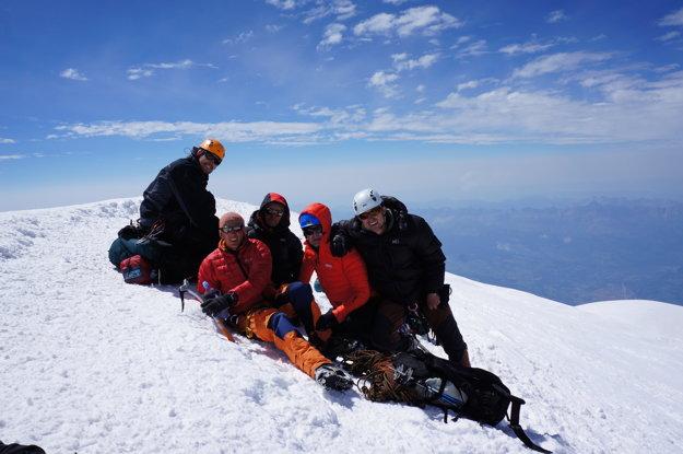 Peter Pika je vášnivý horolezec. S priateľmi zdolali aj Mont Blanc, najvyšší vrchol Európy.