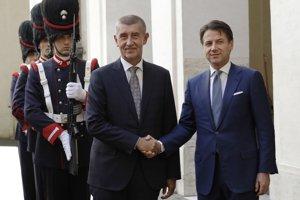 Babiš svoje stanovisko tlmočil v utorok talianskemu premiérovi Giuseppemu Contemu, s ktorým sa stretol počas pracovnej návštevy v Ríme.