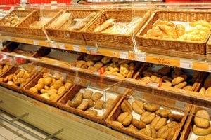 Pekárenské výrobky sa kedysi predávali na trhoviskách, nie v nie v pekárňach.