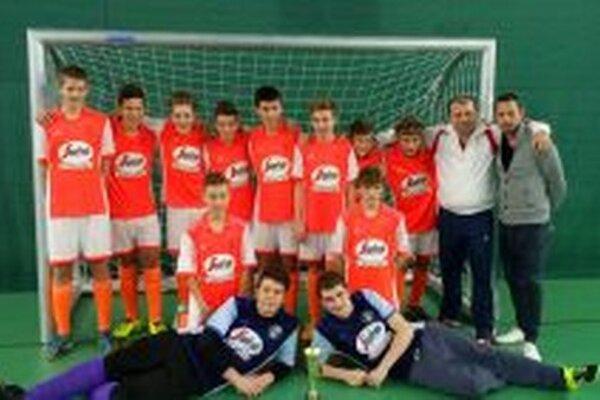 Topoľčany U15 vyhrali celý turnaj.