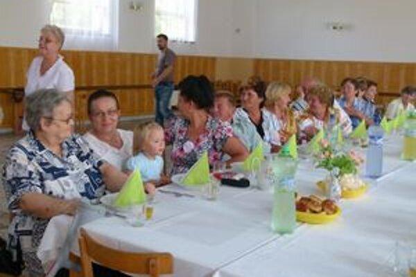 Oslavy sa konali v kultúrnom dome.
