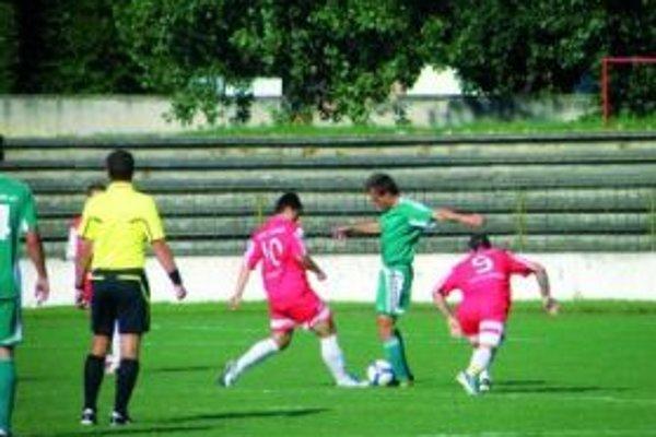Topoľčianski futbalisti otočili nepriaznivý vývoj a vyhrali.