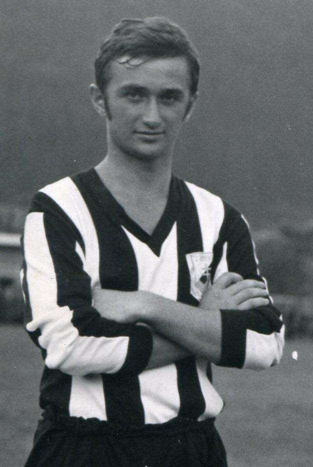 Ján Diabelko na začiatku kariéry.