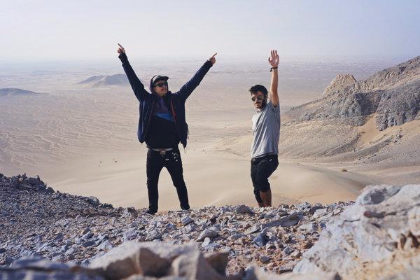 Iránska púšť.