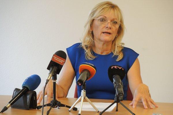 Danica Birošová oznámila kandidatúru v stredu 5. septembra.