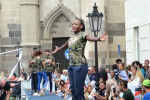 Jamajská hviezda Kimberly Williamsová nešetrila úsmevmi.