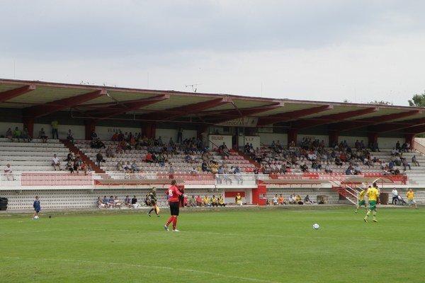 Štadión v Topoľčanoch.