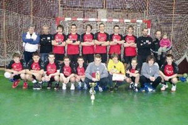 Dorastenci vyhrali medzinárodný turnaj.