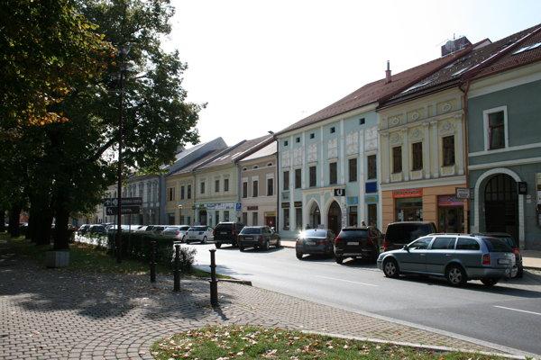 Novoveské námestie.