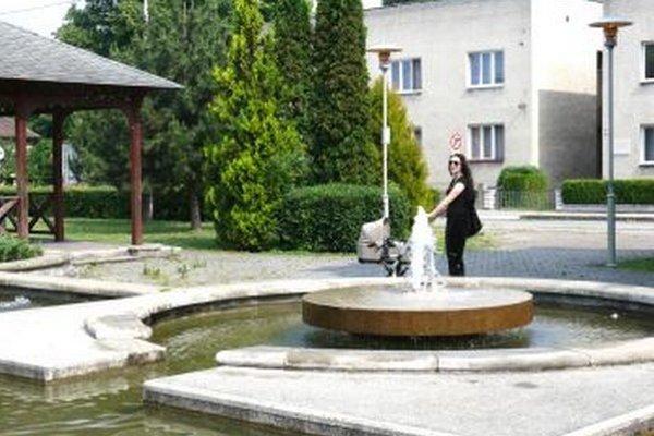 Fontána v Hviezdoslavovom parku je najobľúbenejšia.