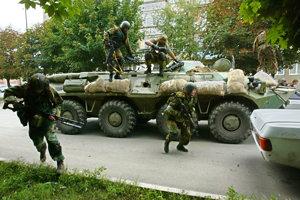 Gagijev sa zúčastnil aj na rukojemníckej dráme v Beslane.