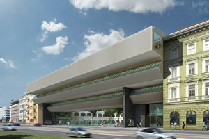 Takto bude fasáda SNG vyzerať po dokončení.