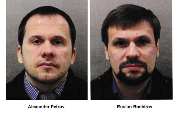 Alexander Petrov a Ruslan Boširov.