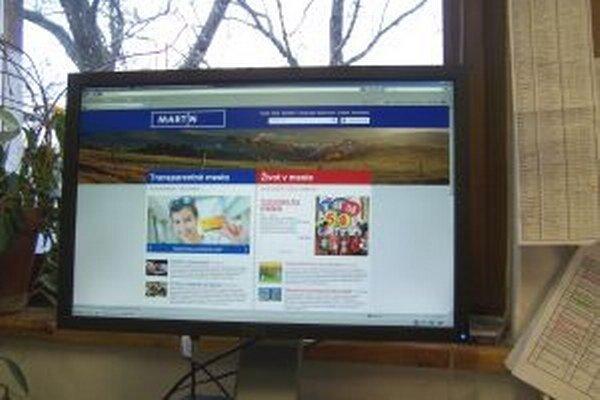 Projekt Transparentné mesto má na webovej stránke mesta osobitnú sekciu.
