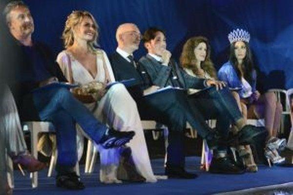 Linda Pavlova na súťaži Miss Europe Continental.