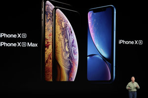 Apple ukazuje iPhone XS