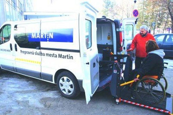 Martinčania prepravnú službu využívajú najmä na návštevy lekára a pri vybavovaní na úradoch.