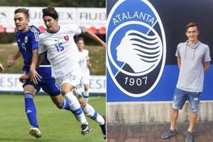 Matúš Repa z Galanty už hrá za slovenskú reprezentáciu do 17 rokov a najnovšie prestúpil z Trnavy do Atalanty Bergamo.