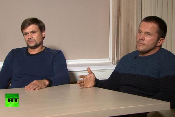 Ruslan Boširov a Alexandr Petrov prehovorili.
