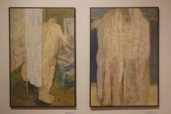 Z aktuálnej výstavy Petra Šaba v Turčianskej galérii. Potrvá do 1. februára.