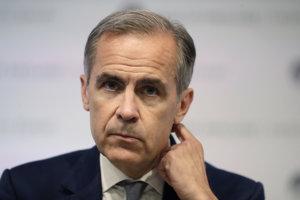 Guvernér britskej centrálnej banky Mark Carney.