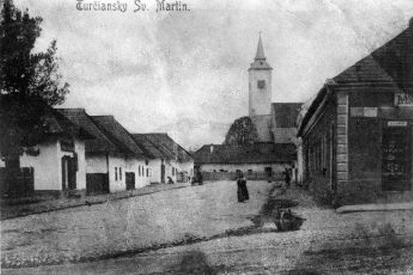 Aj takto sa žilo kedysi v Turčianskom sv. Martine.