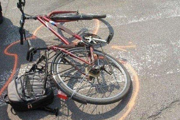 Cyklistu sa už žiaľ nepodarilo zachrániť.