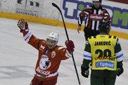 Z gólu na 3:0 sa teší Rasmus Kulmala
