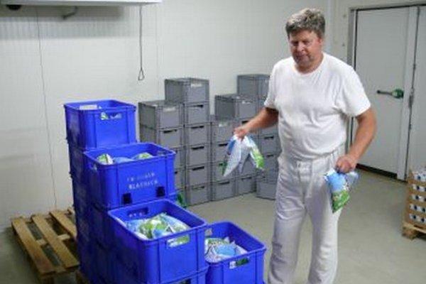 PD Gader v Blatnici má vlastnú mliekareň, ktorá pomáha zmierňovať straty.