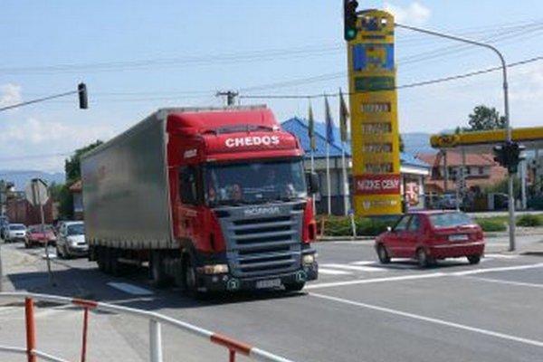 Kamióny v Sučanoch sú už minulosťou.
