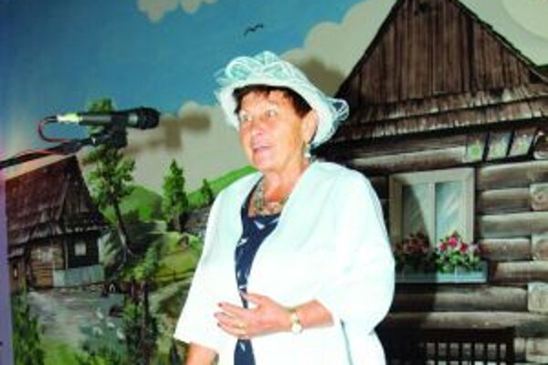 Anna Vojtková. Na diplom jej napísali – za nové bájkoslovie.
