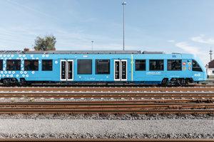 Vlak na vodíkový pohon.