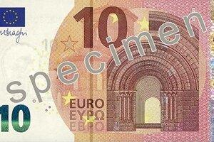 Nová bankovka v hodnote 10 € je v obehu od 23. septembra 2014.