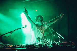 Záver festivalu hral český elektronický producent Ventolin.