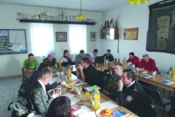 Organizačný výbor Hasičských dní už zasadal.