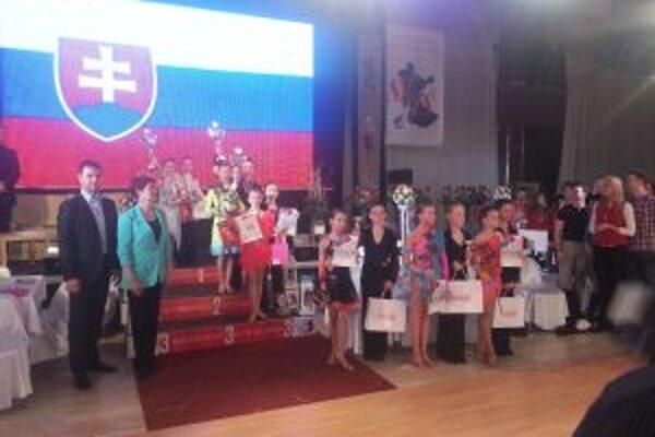V Košiciach sa zišlo množstvo dobrých tanečníkov.