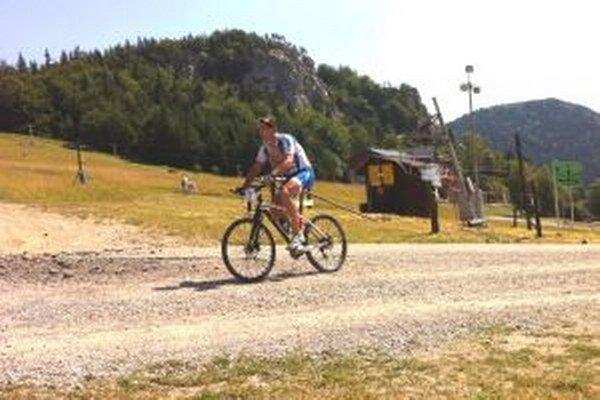 Martin Ranto si vybicykloval prvé miesto.