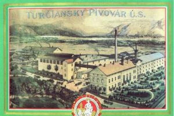 Dobová fotografia areálu pivovaru v Martine.