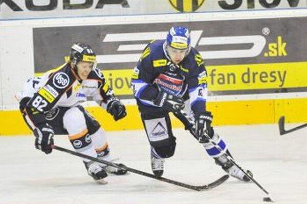 Jaroslav Markovič strelil v zápase proti B. Bystrici dva góly.