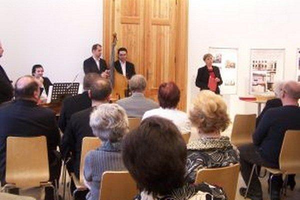 Riaditeľka Slovenského národného múzea v Martine Mária Halmová počas otvorenia budovy i výstav.